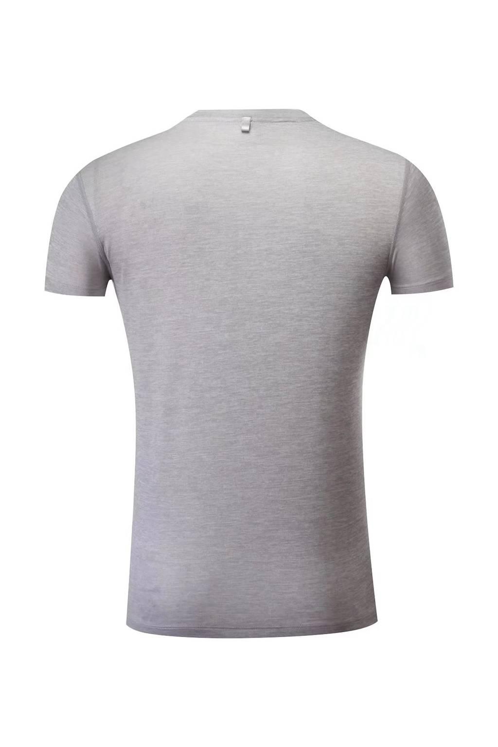 短袖文化衫 夏季圆领吸汗速干透气文化衫运动T恤跑步健身3D细节