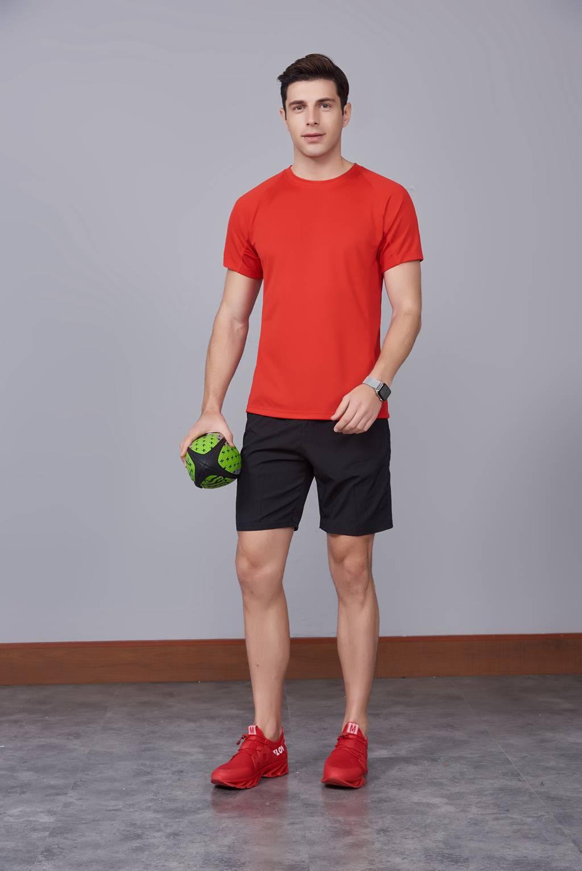 纯色T恤  简约大方经典时尚  红色款