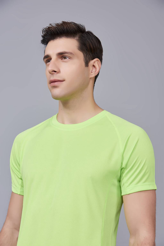 纯色T恤  简约大方经典时尚  果绿色