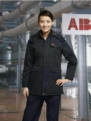 工作服冬季保暖棉服耐磨防寒女士棉服