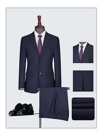 纯色西服套装男士三件套商务休闲西装
