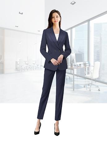女士通勤时尚款西服套装春秋季高端西服