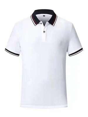 时尚T恤衫男士夏季 优雅白短袖