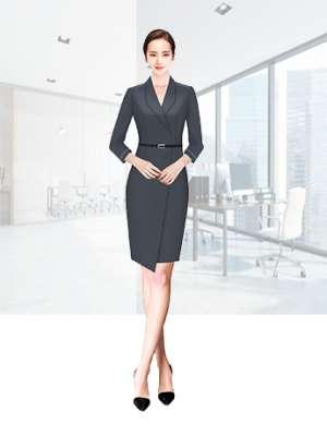 职业装定制 时尚职业装女士长