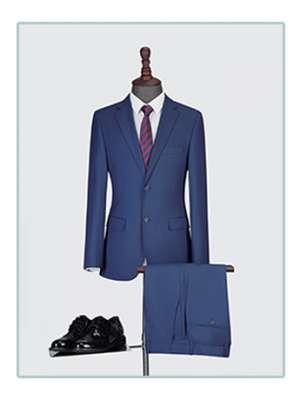 时尚男士西服套装春秋季男士纯色西服