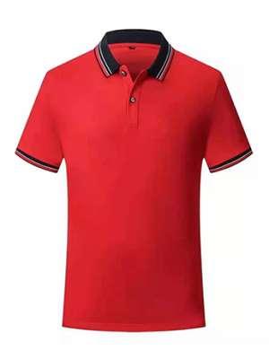 时尚T恤衫男女士夏季 红色时尚